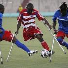 Disabled Soccer Player Haiti