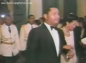 Jean-Claude Duvalier And Simone Ovide Duvalier