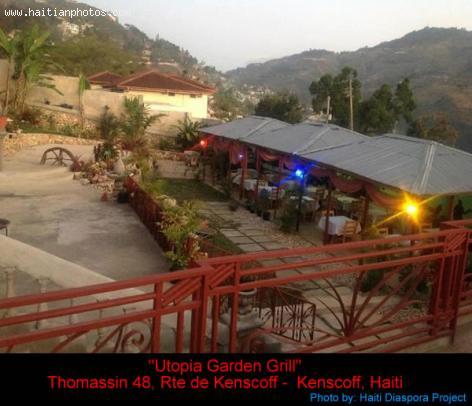 Utopia Garden Grill -  in Kenskoff