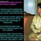Simone Ovide Duvalier, born in 1913 near Léogâne