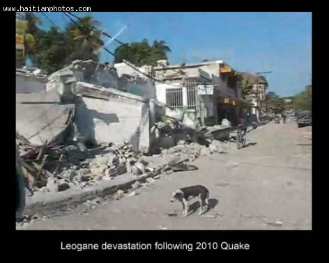 Léogâne, the epicenter of the 7.0 magnitude Earthquake