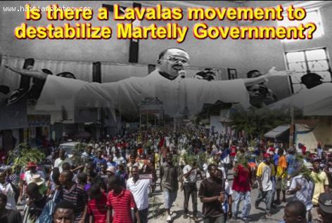 Is Lavalas of Jean Bertrand Aristide destabilizing Martelly Government?