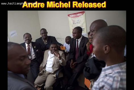 Attorney Andre Michel Released from Jail