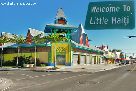 Welcome to Little Haiti in Miami