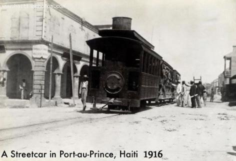 Street Car during Antoine Simon Presidency