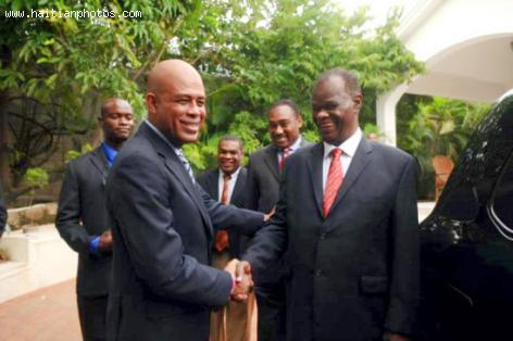 Boniface Alexandre, President of Haiti