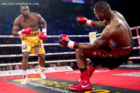 Adonis Stevenson stopped Tavoris Cloud