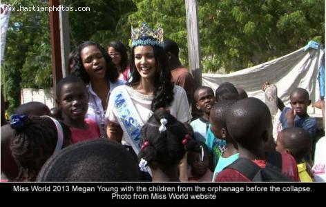 Miss World Philippines Megan Young accident in Haiti