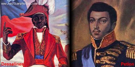 Jean-Jacques Dessalines and Alexandre Petion