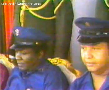 Jean-Claude Duvalier With VSN