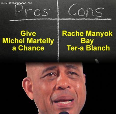 The argument for and against Michel Martelly