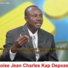 Moise Jean Charles speaking in French