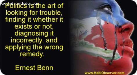 Haiti Politic, the art of politic