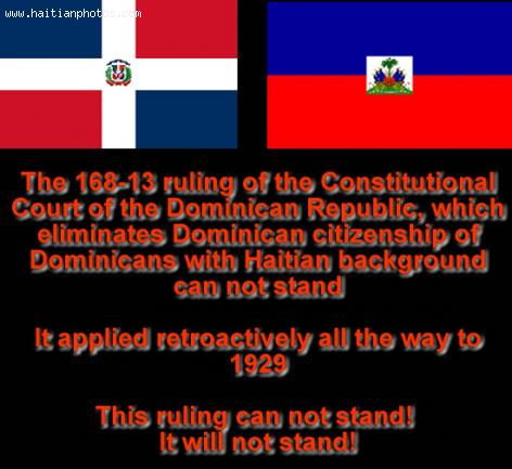The 168-13 ruling of the Dominican Court