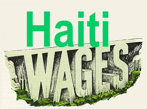 Haiti wages and minimum Salary