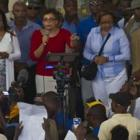 Mildred Trouillot Aristide  on 24th anniversary of election