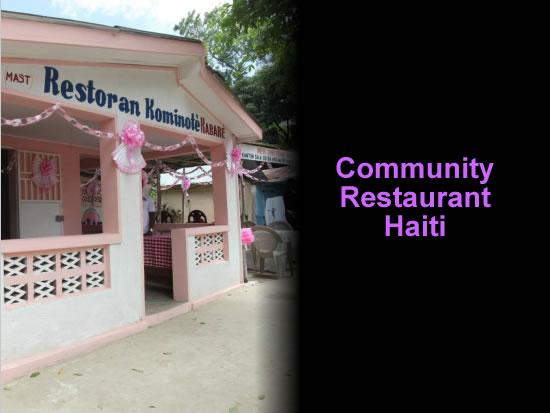 Community restaurant