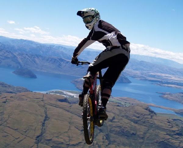 Mountain bike stage racing