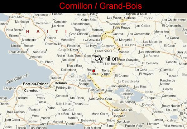 Cornillon - Brand Bois, Haiti