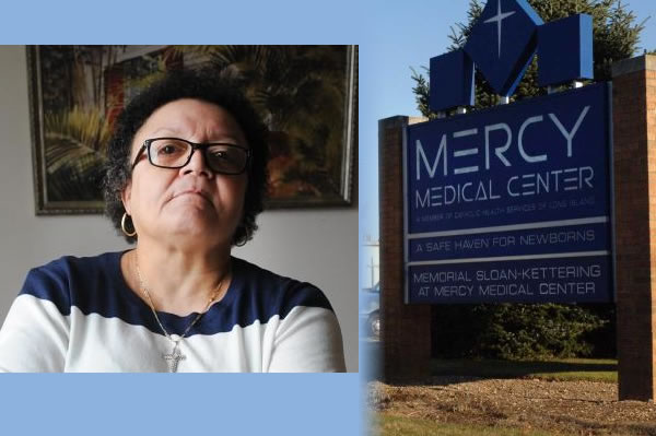 Mercy Medical Center in Rockville Centre on Long Island