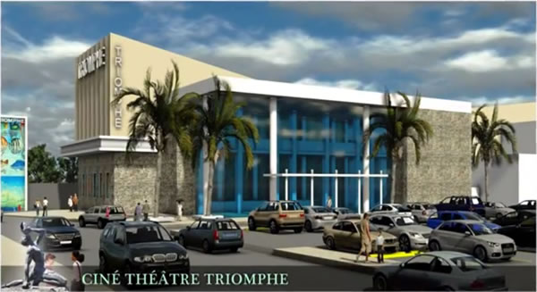 Plan of rehabilitation for Cine Triomphe