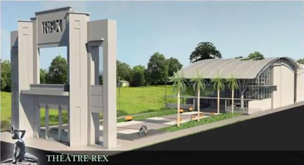 Rex Theatre plan