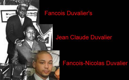 Francois, Jean-Claude Nicholas Duvalier