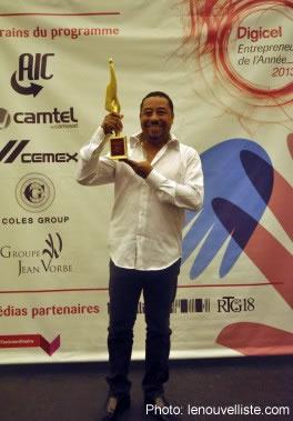 Dr. Laroche Double Trophy Winner at Digicel Event