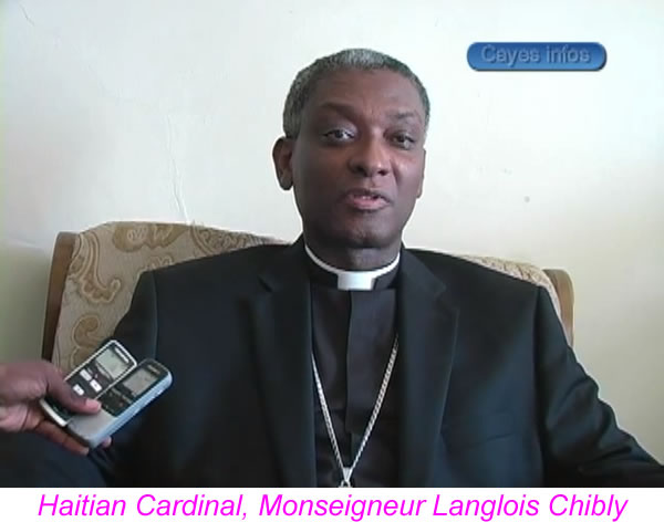 Monseigneur Langlois Chilby, new Haitian Cardinal