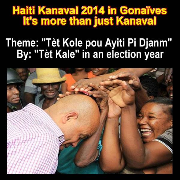 Haiti Kanaval 2014, is it Tet Kole or Tet Kale?