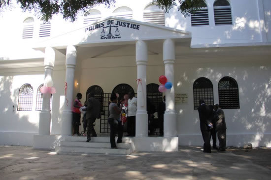 Petit-Goave, New Courthouse