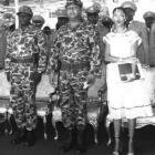 Jean-Claude Duvalier In His Military Uniform