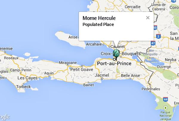 Morne Hercule, Haiti