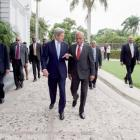 U.S. Secretary of State John Kerry said Haiti a priority to the US