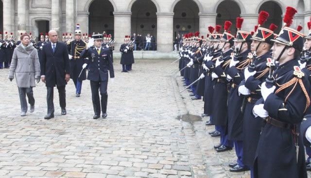 President Michel Martelly in Paris, France