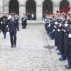 President Michel Martelly in Paris, France