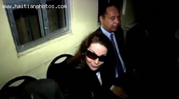 Jean-Claude Duvalier With Veronique Roy