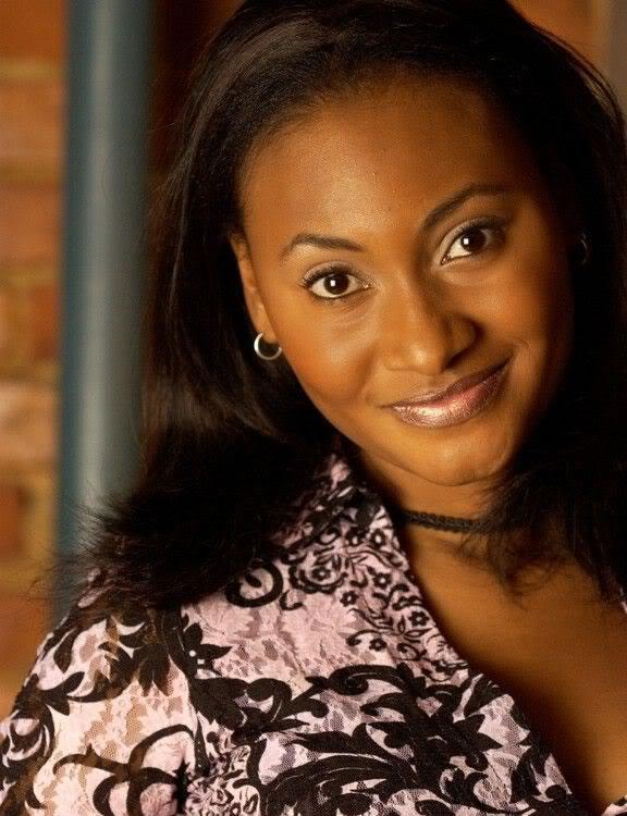 Haitian actress Fabienne Colas