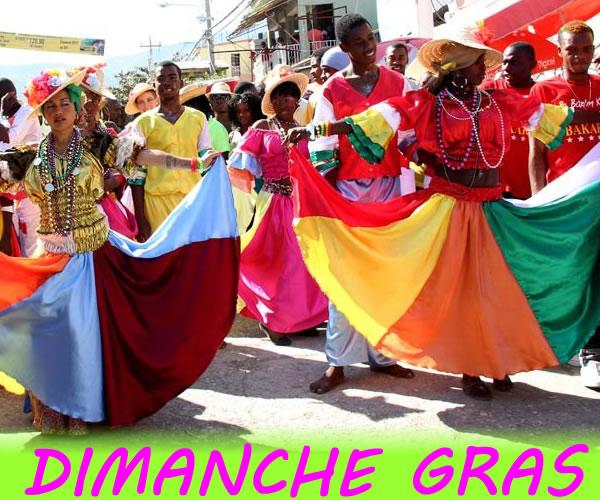 Dimance Gras, in Haiti