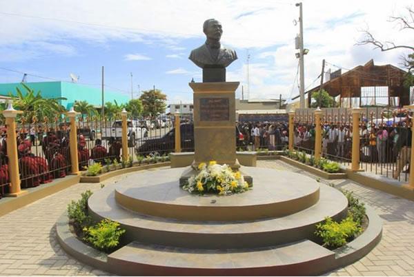 Jose Marti Square in Cap-Haitian