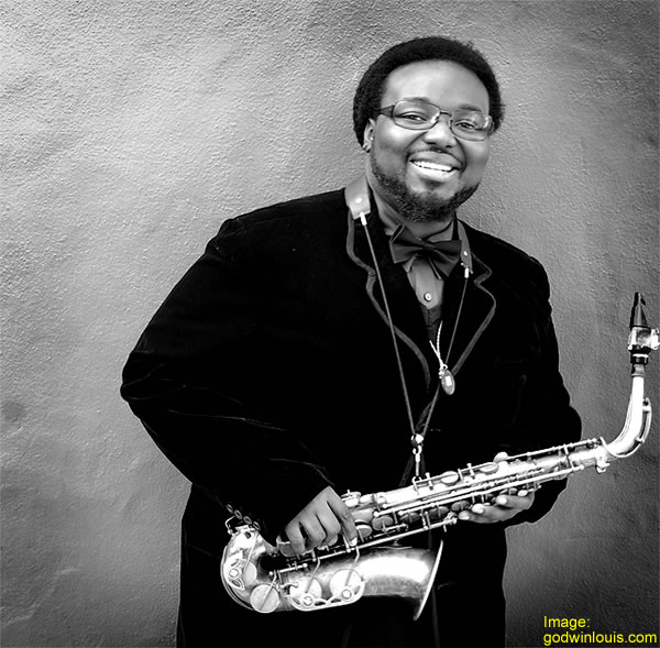 Godwin Louis Wins Praise at Monk Jazz Competition