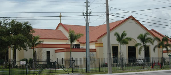 New Notre Dame d'Haiti Church in Little Haiti