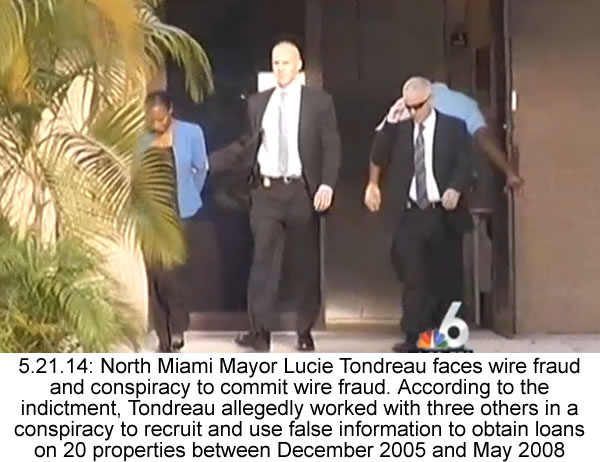 Mayor Lucie Tondreau indicted on Mortgage Fraud