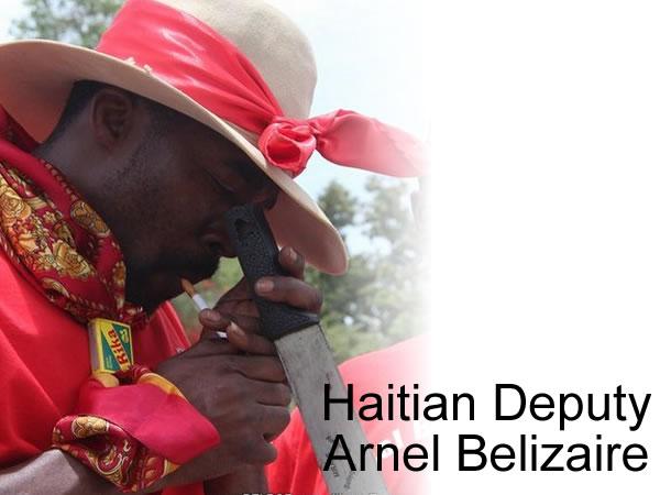 Arnel Belizaire - Machette a la Main