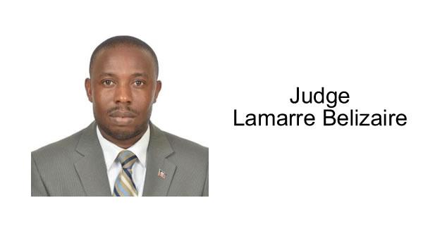Judge Lamarre Belizaire