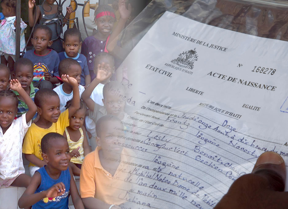 Martelly Government to issue birth certificate to close to 2 million Haitians