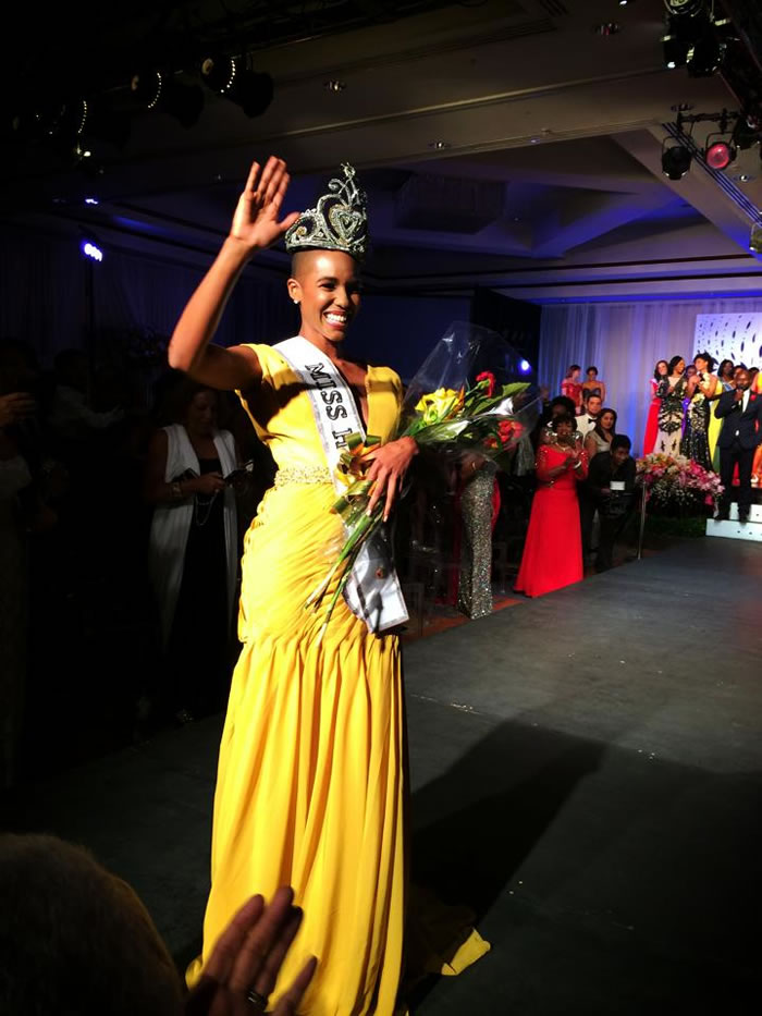 Carolyn Desert crowned Miss Haiti 2014