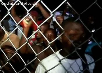 Jean-Claude Duvalier Supporters In Haiti