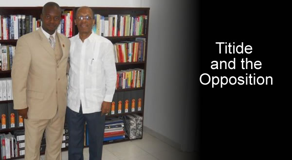 Jean-Bertrand Aristide and Rony Timothe MOPOD