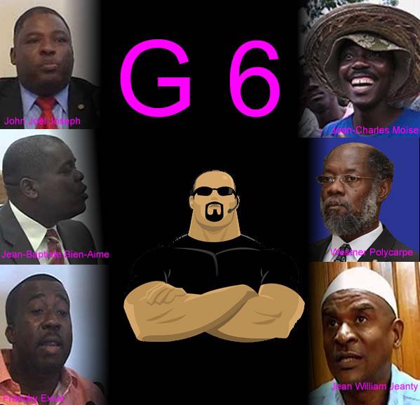 Six opposition senators within the G6